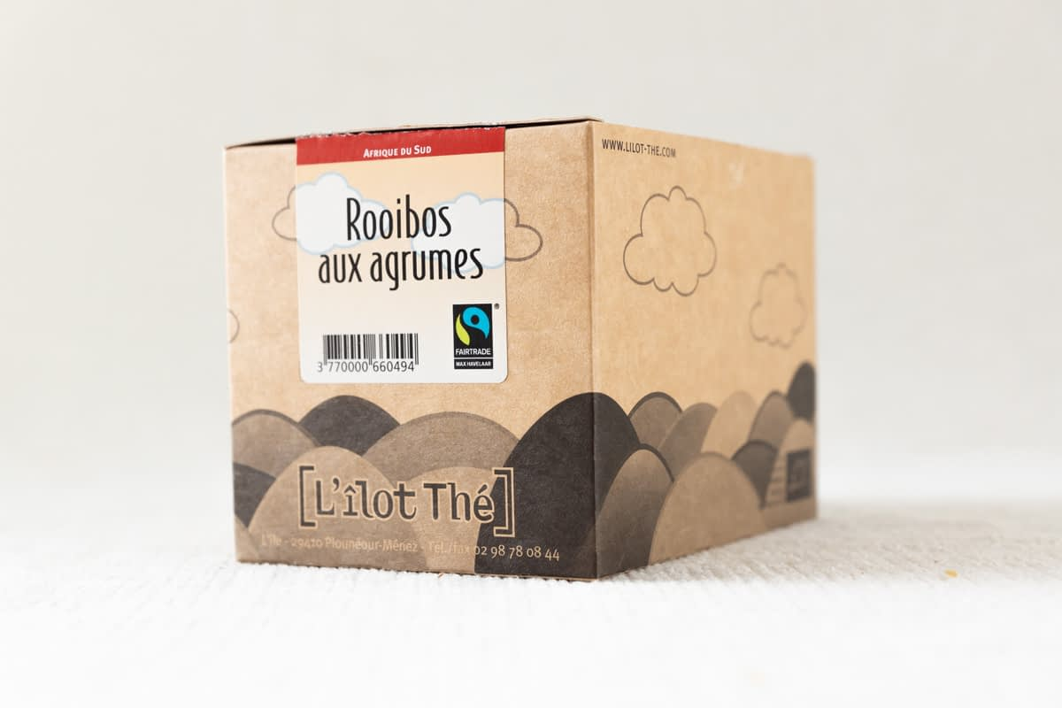 rooibos agrumes infusion thé salon ty Laz Finistère