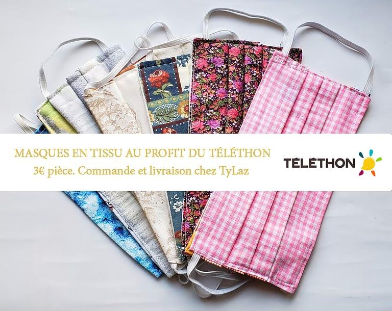 vente masques telethon