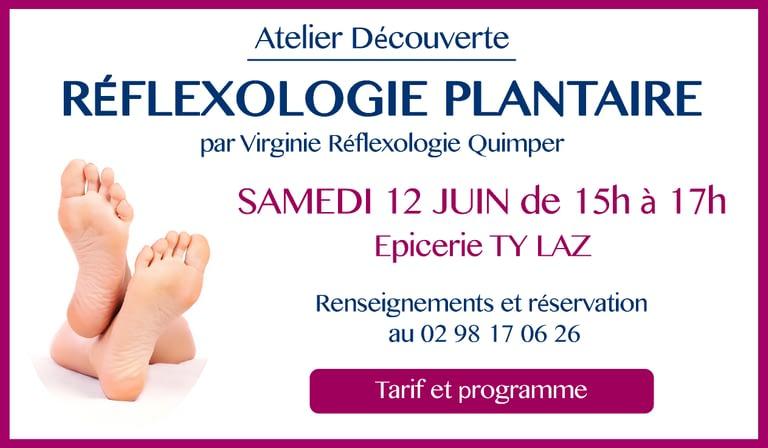 Atelier découverte - Réflexologie plantaire